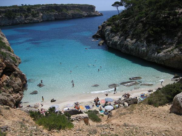 visitar Mallorca playas Calo-des-Moro