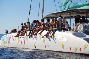 Excursión con catamaran en Mallorca
