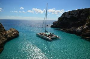 Mallorca excursión en catamaran