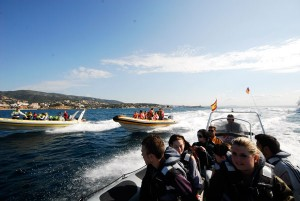 Excursiones en Mallorca speed boats