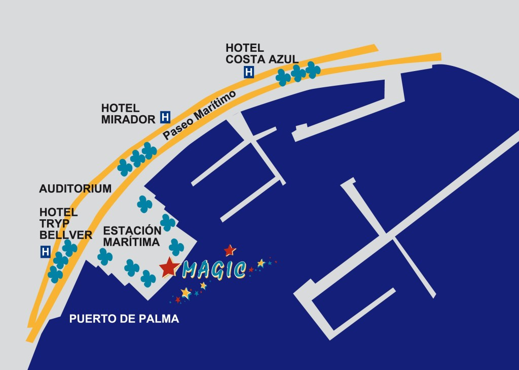 Palma Mallorca, Salida en catamaran