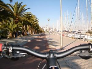 Palma de Mallorca en bicicleta