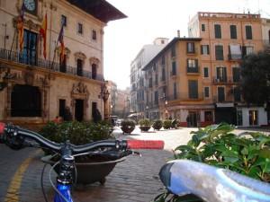 Palma on bike