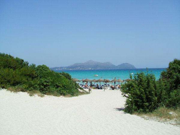 visitar Mallorca playa de Muro