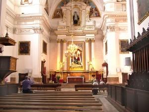 Valldemossa iglesia