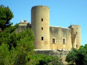 Palma panoramica Castillo de Bellver