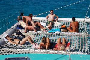 Excursión en catamaran, Mallorca